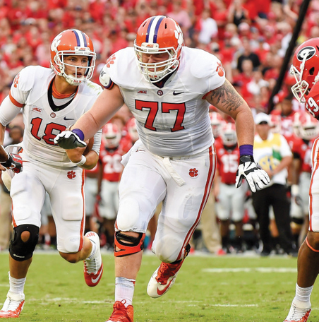 Reid Webster. Photo: @ClemsonFB