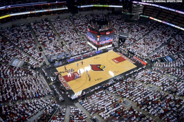 Louisville Basketball White Out UNC