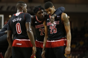 NCAA Basketball: Louisville at Boston College