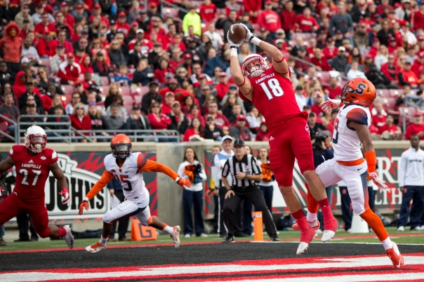 TE Cole Hikutini. Photo: GoCards.com