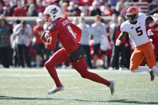 NCAA Football: Virginia at Louisville