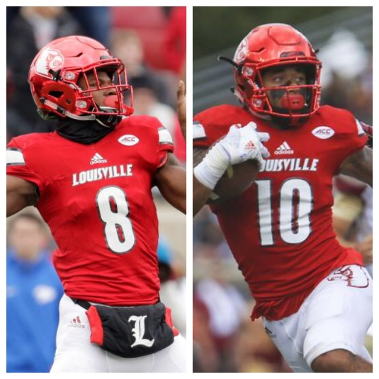 Image result for lamar jackson and jaire alexander