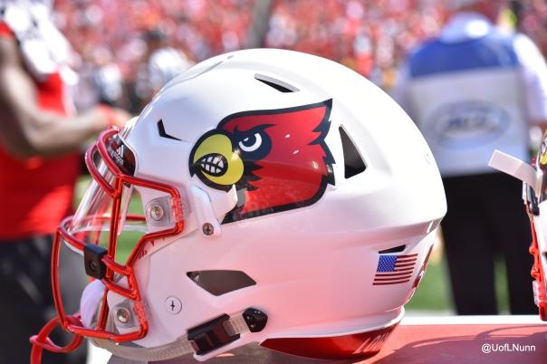 Louisville white helmet