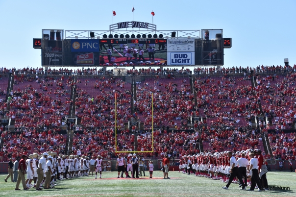 Louisville vs BC - Papa Johns Cardinal Stadium