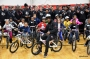 Louisville Football Team And Academy Sports Give 100 Local Children A Bike And Helmet (Photo Gallery)