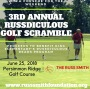3rd Annual Russdiculous Golf Scramble